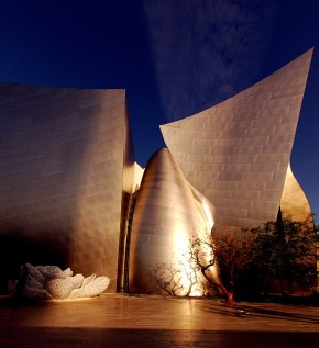 Walt Disney Concert Hall in Downtown LA
