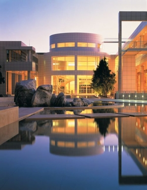The Getty Center in Los Angeles (west side)